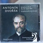 SOV Symphonie Orchester Vorarlberg: CD Dvorăk