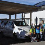 Sunnabüs'le Suldis: Carport, Kinder und Bürgermeister