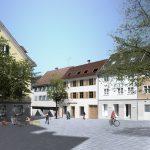 Marktstrasse-20  Im Mai beginnt die Sanierung des denkmalgeschützten Gebäudes in der Marktstraße 20.  Copyright: Lacha & Partner, Abdruck honorarfrei zur Berichterstattung über das Unternehmen. Angabe des Bildnachweises ist Voraussetzung.