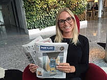 Julia Nussbaum: Redaktions-Trainee bei Russmedia