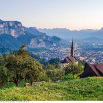 Blick vom Oberfallenberg bei Dornbirn ins Rheintal  Blick vom Oberfallenberg bei Dornbirn ins Rheintal  Copyright: Walser-Image, für touristische Nutzung im Zusammenhang mit touristischen Themen über Vorarlberg