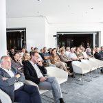 Aufmerksames Publikum  Gespannt folgten die Branchenvertreter den Ausführungen bei der Jahreshauptversammlung von Bodensee-Vorarlberg Tourismus im Casino Bregenz.  Copyright: Bodensee-Vorarlberg Tourismus GmbH/Roswitha Natter.