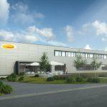 Visualisierung: Neubau Bäckerei Mangold durch i+R