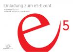 Einladung e5-Event 2017