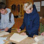 erster i+R Lehrlings-Infotag: Holzbau