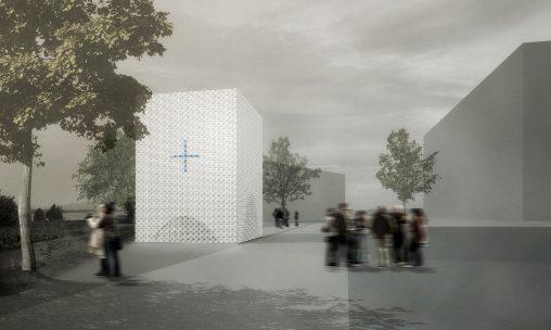 "i+R Wohnbau: Rendering der Kapelle in ""Mein Seedomizil"" in Lochau"