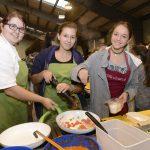 Kochen bei der Lehrlingsmesse im Walgau