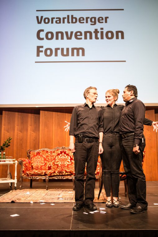 7. Vorarlberger Convention Forum: Improtheater in Aktion (hoch)