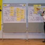 Bürgerforum von i+R in Konstanz: Ergebnissicherung  Die Ergebnisse der Diskussionen wurden festgehalten und werden in die Auslobung des städtebaulichen Wettbewerbs einfließen.  Copyright: i+R/Chris Danneffel. Abdruck honorarfrei zur Berichterstattung über die Nachnutzung des Siemens-Areals in Konstanz. Angabe des Bildnachweises ist Voraussetzung.