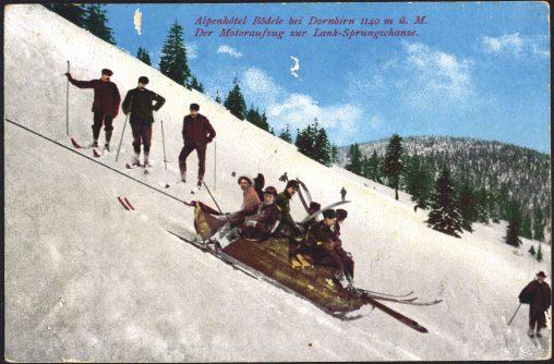 Vorarlberg Tourismus: 125 Jahre Landesverband für Fremdenverkehr - Motoraufzug Bödele