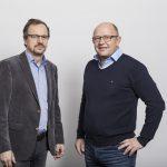 Edwin Kalb (Kalb Analytik) und Peter Schelling (TGS)