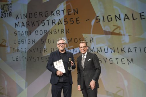 Sägenvier erhält den German Design Award 2018