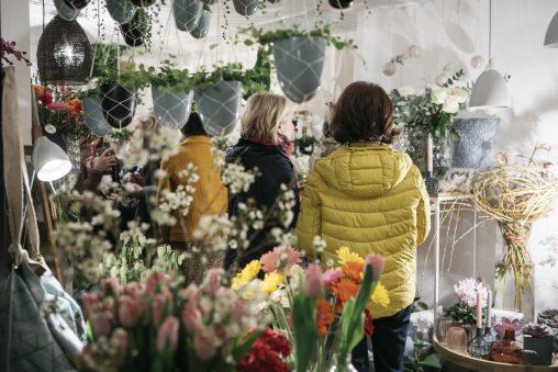 Eröffnung Blumengeschäft freistiel in Hohenems