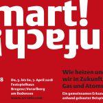 Inserat Tri 2018  Sujet zur Tri-Konferenz vom 5. bis 7. April 2018 im Festspielhaus Bregenz.  Copyright: Tri GnbR. Grafik: Dalpra & Partner.