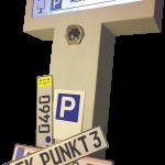 PDS von PUNKT3 freigestellt  PDS vereint Parkplatz- und Besuchermanagement.  Copyright: PUNKT 3. Abdruck für alle Fotos honorarfrei zur Berichterstattung über PUNKT 3. Angabe des Bildnachweises ist Voraussetzung.