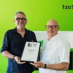 German Brand Award für Sägenvier und 1zu1