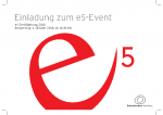 Energieinstitut Einladung e5-Event 2018