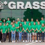 GRASS: neue Lehrlinge 2018  11 Mädchen und 15 Burschen haben Anfang der Woche mit einer Lehre bei GRASS ihre berufliche Laufbahn begonnen.  Copyright: GRASS GmbH. Abdruck honorarfrei zur Berichterstattung über die GRASS GmbH. Angabe des Bildnachweises ist verpflichtend.