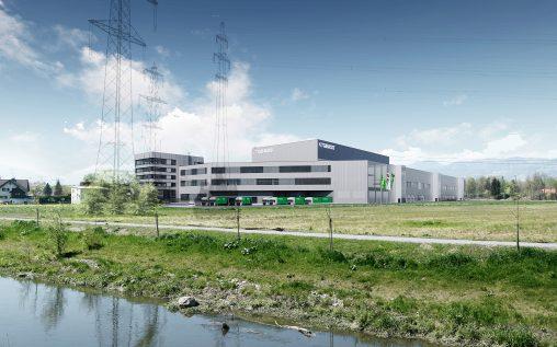 GRASS-Standort Hohenems: Visualisierung Bauetappe 2