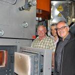 Biomasseheizung im Gemeindezentrum KOM Altach  Die Biomasseheizanlage im Plus-Energie Gemeindezentrum KOM in Altach versorgt alle öffentlichen Gebäude mit sauberer Energie.  Copyright: Markus Gmeiner. Abdruck honorarfrei zur Berichterstattung über das e5-Programm für energieeffiziente Gemeinden. Angabe des Bildnachweises ist Voraussetzung.