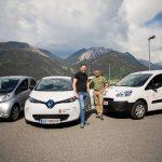 Elektroautos e5-Gemeinde Bürs
