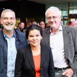 e5-event 2018: Wolfgang Ponudic, Sandra Schoch, Gerald Maier