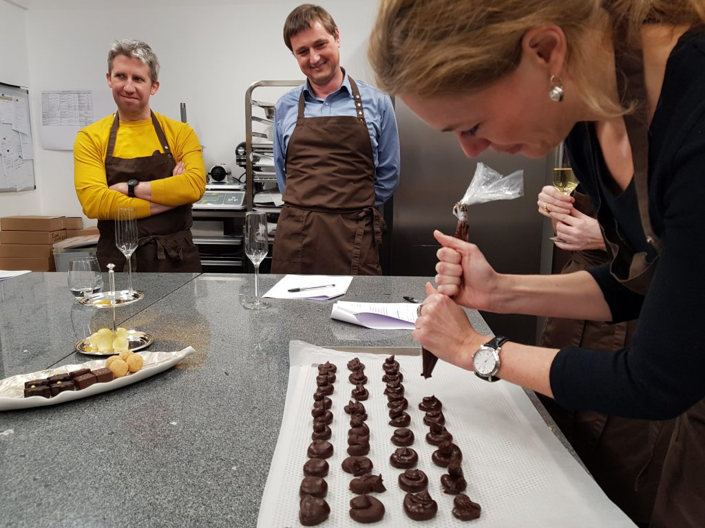Pzwei-Weihnachtsfeier 2018: Xocolat