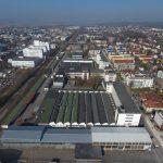 Nachnutzung Siemens-Areal Konstanz: Luftaufname