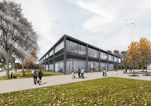 i+R / RITZ Friedrichshafen: Visualisierung außen