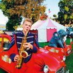 Emsiana-2019-Circus-Dimitri  Manege frei für Maus, Clowns und Artisten heißt es beim Circus Dimitri, der Amüsement für die ganze Familie verspricht.  Copyright: Kulturkreis Hohenems. Abdruck honorarfrei zur Berichterstattung über die Emsiana 2019. Angabe des Bildnachweises ist Voraussetzung.
