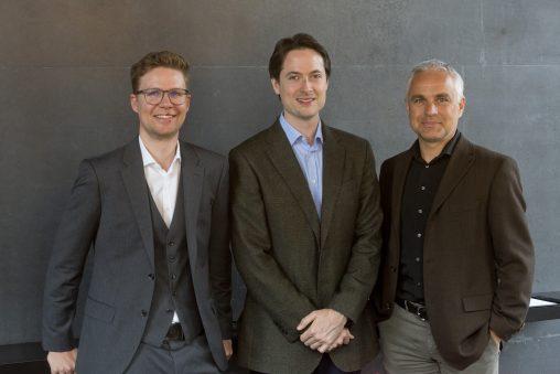 Sebastian Hazod, Leo McFall und Manfred Schnetzer
