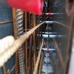 Sensorsysteme zum Einsatz von klimaschonendem Zement im B12 Illside  Hochauflösende Sensorsysteme der ETH Zürich liefern Daten zur Entwicklung des pH-Wertes, der Chloridkonzentration und der Feuchte im Beton, bei dem erstmals der klimaschonende Zement von Holcim eingesetzt wird.  Copyright: ETH Zürich. Abdruck honorarfrei zur Berichterstattung über Tomaselli Gabriel Bau, B12 Illside und die Holcim (Schweiz) AG. Angabe des Bildnachweises ist Voraussetzung.