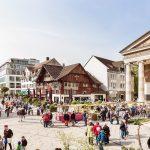 Bodensee-Vorarlberg-Dornbirn.jpg  Dornbirn ist die größte Stadt Vorarlbergs, ihr schönes Zentrum um den Marktplatz lädt zum Flanieren.  Copyright: Petra Rainer. Abdruck honorarfrei zur Berichterstattung über die Bodensee-Vorarlberg Tourismus GmbH. Angabe des Bildnachweises ist Voraussetzung.