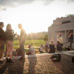 """SSPS 2019: Green Event  Die Naturwissenschaftliche Fakultät der Universität Salzburg war ein idealer Ort für das Sport-Physiotherapie Symposium, das diesmal als """"Green Event"""" veranstaltet wurde.  Copyright: Universität Salzburg. Fotograf: Rüdiger Jahnel. Abdruck der Bilder honorarfrei in Verbindung mit der Universität Salzburg. Angabe des Bildhinweises ist Voraussetzung."""