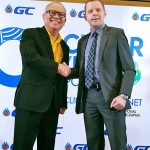 "Partnership ALPLA and GC  ALPLA und PTT Global Chemical (GC) arbeiten gemeinsam an einer Machbarkeitsstudie für den Bau eines Recyclingwerks in Thailand. Das gaben ALPLA Regional Manager Bernd Wachter und Supattanapong Punmeechaow, Präsident und CEO von GC, im Rahmen des ""Circular Living Symposium 2019 – Upcycling Our Planet"" Ende Juni in Bangkok bekannt. // ALPLA and PTT Global Chemical (GC) will collaborate on a feasibility study for the construction of a recycling plant in Thailand. ALPLA Regional Manager Bernd Wachter and Supattanapong Punmeechaow, President and CEO of GC, announced the plans at the Circular Living Symposium 2019 – Upcycling Our Planet in Bangkok at the end of June.  Copyright: ALPLA. Abdruck honorarfrei zur Berichterstattung über ALPLA. Angabe des Bildnachweises ist verpflichtend. // Reprinting free of charge for reporting on ALPLA. Photo credit required."