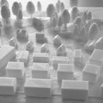 """i+R-Inselbraeupark-Lindau-Modell.jpg  Das Architekturmodell der Architekten 1zu1 Löffelholz für das Projekt """"Inselbräupark"""" im Oberen Rothenmoos in Lindau.  Copyright: i+R Wohnbau Lindau. Copyright: Abdruck honorarfrei zur Berichterstattung über die Quartiersentwicklungen am Oberen Rothenmoos, Lindau. Angabe des Bildnachweises ist Voraussetzung."""