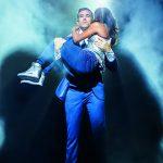 Bodyguard-Musical-Lovestory  Hauptdarsteller Jo Weil und Aisata Blackman  Copyright: VBW, D. van Meer. Abdruck honorarfrei zur Berichterstattung über BODYGUARD – DAS MUSICAL. Angabe des Bildnachweises ist Voraussetzung.