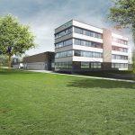 i+R: Visualisierung GTL Lindau 3  Auf einer Gesamtfläche von rund 13.100 Quadratmeter errichtet i+R neben dem Verwaltungsgebäude auch Werkstätten, Lager- und Fahrzeughallen sowie Grün- und Verkehrsflächen für die Garten- und Tiefbaubetriebe Lindau (GTL).  Copyright Visualisierungen: GTL. Abdruck honorarfrei zur Berichterstattung über i+R Industrie- & Gewerbebau GmbH in Zusammenhang mit den Garten- und Tiefbaubetrieben Lindau. Angabe des Bildnachweises ist Voraussetzung.