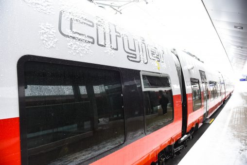 ÖBB Cityjet TALENT3 in Vorarlberg