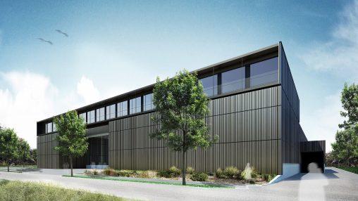 Neubau Hörburger Energietechnik in Rankweil