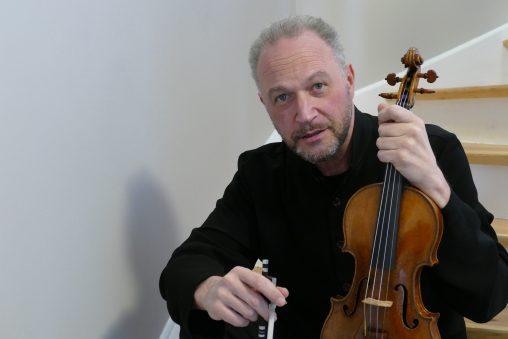 Violinist Kolja Blacher