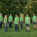 1zu1-Lehrlinge-2020  Die sieben neuen Lehrlinge des Dornbirner High-Tech-Unternehmens 1zu1 beim Kennenlerntag mit ihren Ausbildern.  Copyright: Darko Todorovic. Der Abdruck ist honorarfrei zur Berichterstattung über 1zu1. Angabe des Bildnachweises ist Voraussetzung.