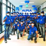 ALPLA: Pune  Ein Teil der Belegschaft des neu erworbenen Werks ALPLA Pune. // Part of the workforce at the newly acquired ALPLA Pune plant.  Copyright: ALPLA. Abdruck honorarfrei zur Berichterstattung über ALPLA. Angabe des Bildnachweises ist verpflichtend. // Reprinting free of charge for reporting on ALPLA. Photo credit required.
