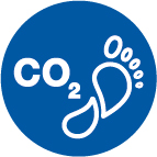 "ALPLA: CO2 carbon neutral  Icon ""klimaneutral"" // 'carbon-neutral' icon  Copyright: ALPLA. Abdruck honorarfrei zur Berichterstattung über ALPLA. Angabe des Bildnachweises ist verpflichtend. // Reprinting free of charge for reporting on ALPLA. Photo credit required."
