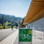 e5-Audit 2020 Lochau: Rad  Radfahren liegt in der e5-Gemeinde Lochau hoch im Kurs: Die Infrastruktur wird laufend ausgebaut.  Copyright: Markus Gmeiner. Der Abdruck aller Fotos ist honorarfrei zur Berichterstattung über das e5-Programm für energieeffiziente Gemeinden. Angabe des Bildnachweises ist Voraussetzung.