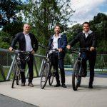 e5-Audit 2020 Schwarzach: Radfahren  Das Radroutennetz wird in Schwarzach laufend ausgebaut.  Copyright: Markus Gmeiner. Der Abdruck aller Fotos ist honorarfrei zur Berichterstattung über das e5-Programm für energieeffiziente Gemeinden. Angabe des Bildnachweises ist Voraussetzung.