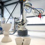 3D-Betondruck-Anlage von Concrete 3D