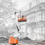 Digando: Arbeitsbühnen (hoch)  Ab sofort hat die Baumaschinen-Mietplattform Digando.com auch Arbeitsbühnen im Sortiment.  Foto: Digando GmbH. Die Verwendung ist honorarfrei zur Berichterstattung über die beteiligten Partner und Digando.com. Angabe des Bildnachweises ist Voraussetzung.