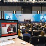 """Flamacon: Virtual Conferences & Events  Mit dem neuen Service-Tool """"Virtual Conferences & Events"""" eröffnet Flamacon Unternehmen und Veranstaltern verschiedenste Gestaltungsmöglichkeiten für virtuelle und hybride Kongresse und Meetings.  Foto: Flamacon. Abdruck honorarfrei, Angabe des Fotohinweises ist Voraussetzung."""