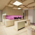 Firmensitz der Waibel-Gruppe in Klaus  Waibel erweitert seine Büroräumlichkeiten am Firmensitz in Klaus.  Copyright: Hassler Architektur. Abdruck honorarfrei zur Berichterstattung über die Waibel GmbH. Angabe des Bildnachweises ist Voraussetzung.